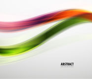 Abstract colorful wavy lines modern pattern Royalty Free Stock Photo