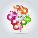 Abstract colorfull background Stock Photography
