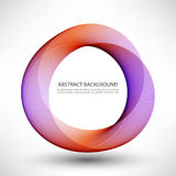 Abstract colorfull background. Abstract colorfull background Colorful lines in a circle Stock Images