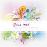 Abstract colorfull design Stock Images