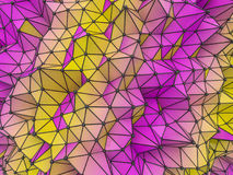 Abstract colorfull Geometrical Background .Futuristic technology Stock Image