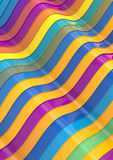 Abstract colorfull shapes. Abstract colorfull lines and shapes Stock Photos