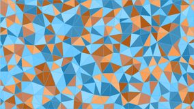 Abstract colorfull triangular pattern. Polygonal gradient background stock illustration