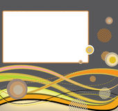 Abstract colorfully background. Illustration of the abstrac background ideal for web page or banner stock illustration