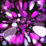 Abstract coloring background. With bokeh and visual lighting effects Stock Photo