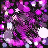 Abstract coloring background. With bokeh and visual lighting effects royalty free illustration