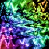 Abstract coloring background. With bokeh and visual lighting effects stock illustration