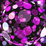 Abstract coloring background. With bokeh and visual lighting effects Royalty Free Stock Images