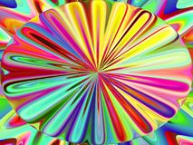 Abstract coloring background. Of the gradient with visual wave and lighting effects stock illustration