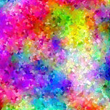 Abstract coloring background,texture of the plasma. With  mosaic and plasma visual effects Stock Image