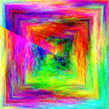 Abstract coloring background,texture of the plasma. With poolar coordinates and plasma visual effects royalty free illustration