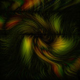 Abstract Colors. Dark abstracted colors Royalty Free Illustration