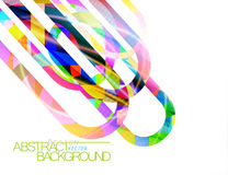 Abstract colors concave scene vector Stock Photography
