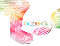 Abstract colors dots style vector Stock Image