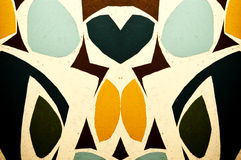 Abstract Colors with Heart royalty free stock images