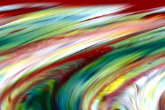 Abstract blue gold red colors and background. Lines in motion Stock Photo