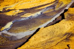 Abstract colors and shape Stock Photography