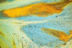 Abstract colors and shape Royalty Free Stock Photography