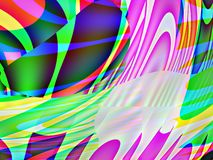 Abstract with colors and shapes background. Royalty Free Stock Image