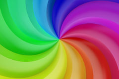 Abstract colors spiral background Royalty Free Stock Image