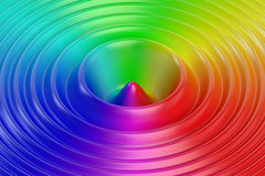 Abstract colors wave background Stock Photo
