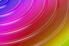 Abstract colors wave background Royalty Free Stock Photography