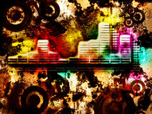Abstract Colorul Music Event Stock Photography