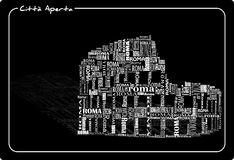 Abstract colosseo Royalty Free Stock Images