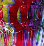 abstract colour multi Στοκ Εικόνες