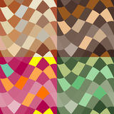 Abstract colour seamless patterns Stock Photo