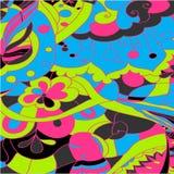Abstract colour shape background. Vector Stock Photos