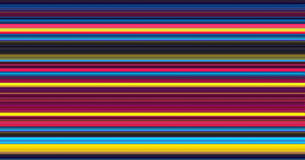 Abstract Colour Stripes Royalty Free Stock Photography