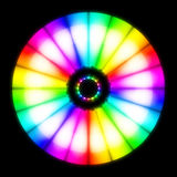 Abstract colour wheel Stock Image