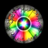 Abstract colour wheel Stock Photo