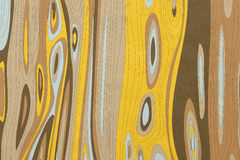 Abstract Colour Wood Grain Royalty Free Stock Photo