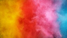 Free Abstract Coloured Powder Explosion Background Royalty Free Stock Photography - 191528607