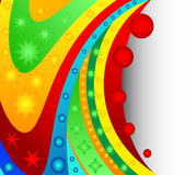 Abstract colourful background from a multi-colored Royalty Free Stock Photography