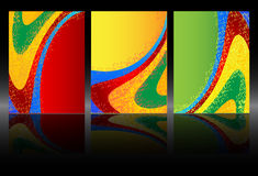 Abstract colourful background from a multi-colored Stock Photography