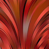 Abstract colourful background with swirl waves.  Stock Image