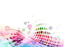 Abstract colourful backgroung Stock Photography