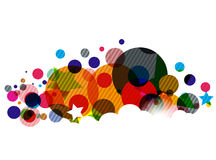 Abstract colourful backgroung Stock Image