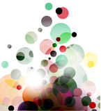 Abstract colourful backgroung. Abstract colourful circle background.  illustration Stock Photo