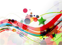 Abstract colourful backgroung Royalty Free Stock Images