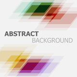 Abstract colourful business banner background Stock Photography