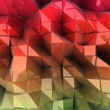 Abstract colourful combination of triangle. Vector Stock Photography