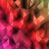 Abstract colourful combination of triangle. Vector Royalty Free Stock Photography