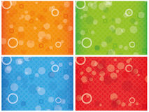 Abstract colourful combo background Royalty Free Stock Images