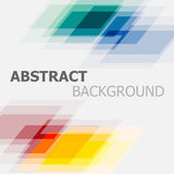 Abstract colourful geometric overlapping background Stock Photography