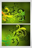 Abstract colourful grunge illustration Royalty Free Stock Image
