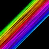 Abstract colourful lines Royalty Free Stock Photo